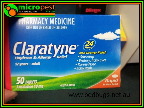 BED BUG MEDICINE CLARATYNE