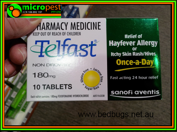 BED BUG MEDICINE TELFAST